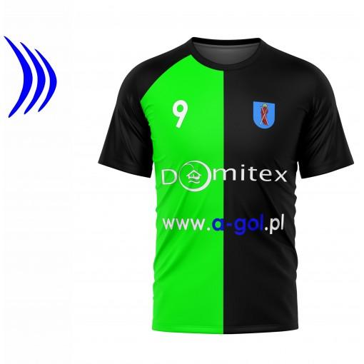 Koszulka sportowa z nadrukiem - wzór 28 siwy