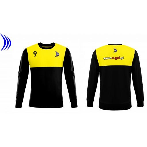 Koszulka sportowa z nadrukiem - wzór 28 błękit